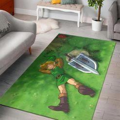 A Link to the Past Zelda L Rug