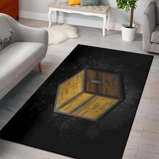 Minecraft Chest Block Rug