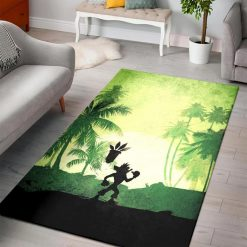 Crash Bandicoot Rug