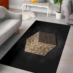 Minecraft Dirt Block Rug