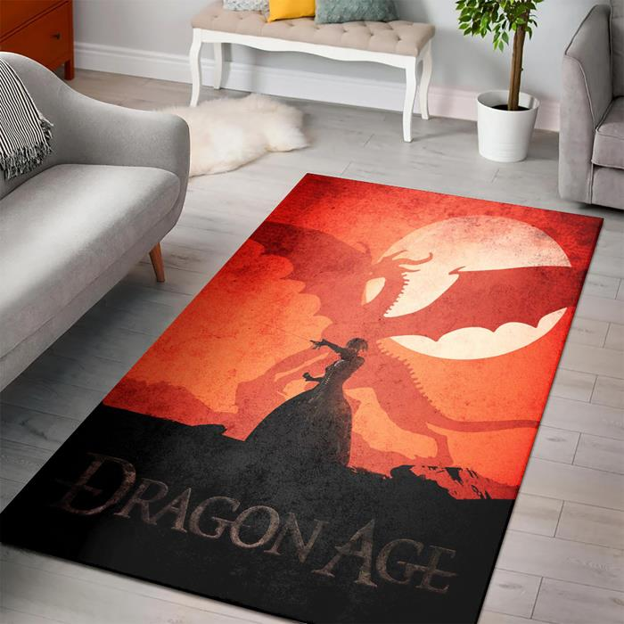 Dragon Age Morrigan Rug