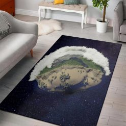 minecraft earth cube rug