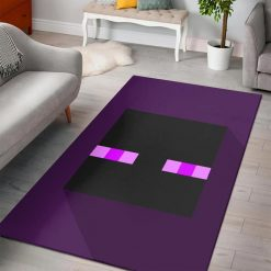Minecraft Enderman Head Rug
