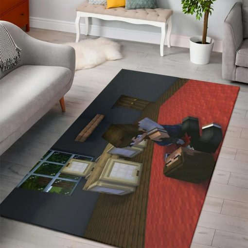 Minecraft First Mission Rug
