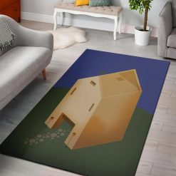 Minecraft Isometric Safehouse Rug