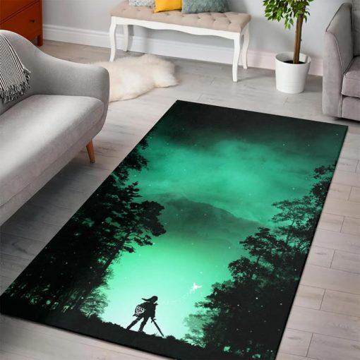 Zelda Kokiri Forest Rug