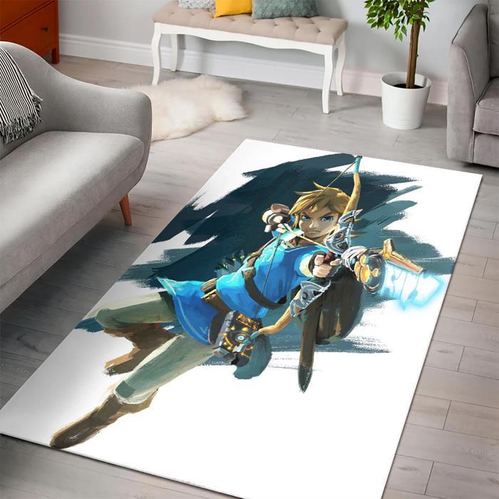 Legend Zelda Breath Link Rug