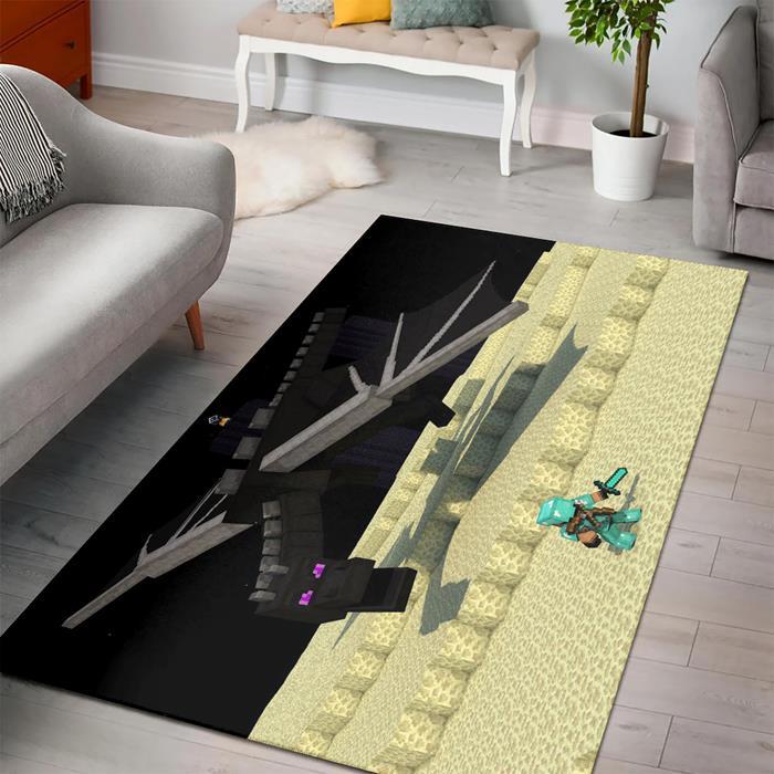Minecraft Dragon Rug