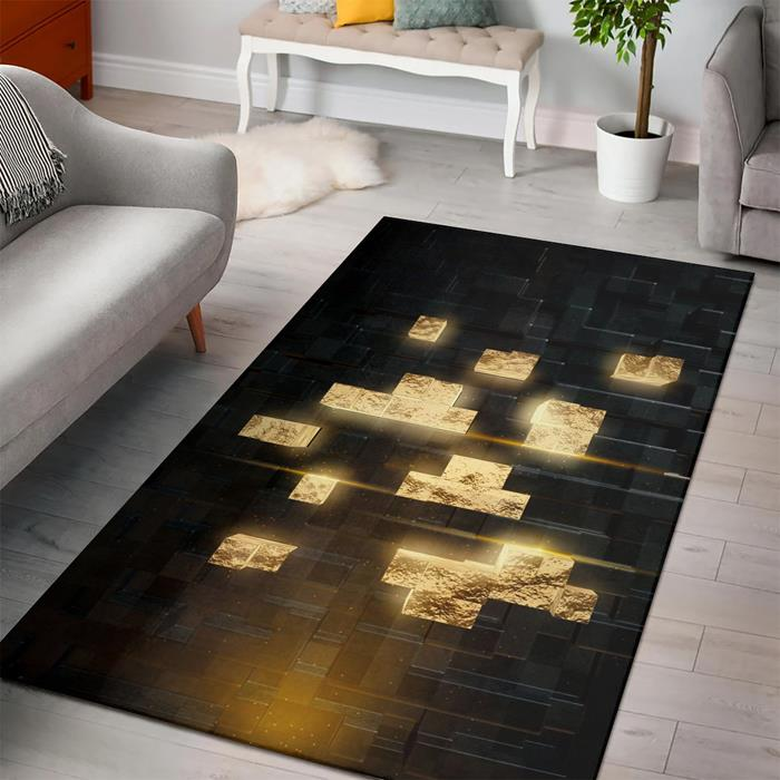 Minecraft Golden Rug