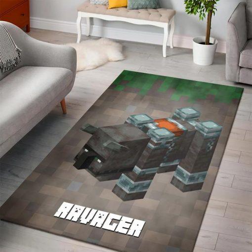 Minecraft Ravager Rug