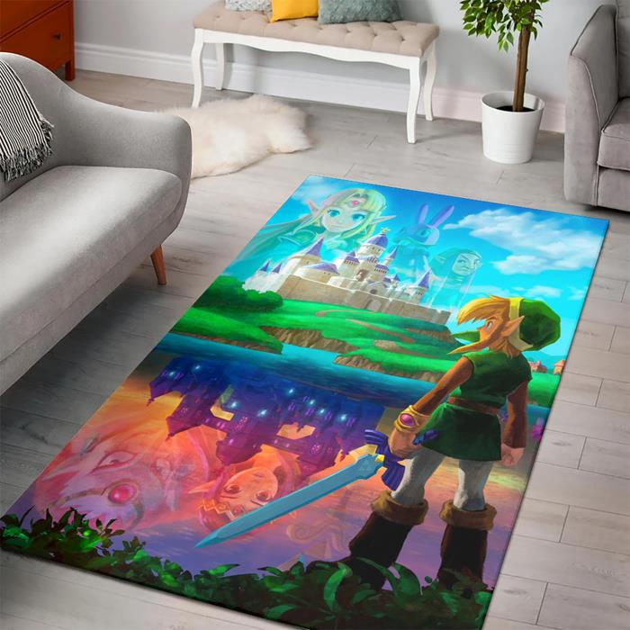 Zelda Link Between Worlds Rug