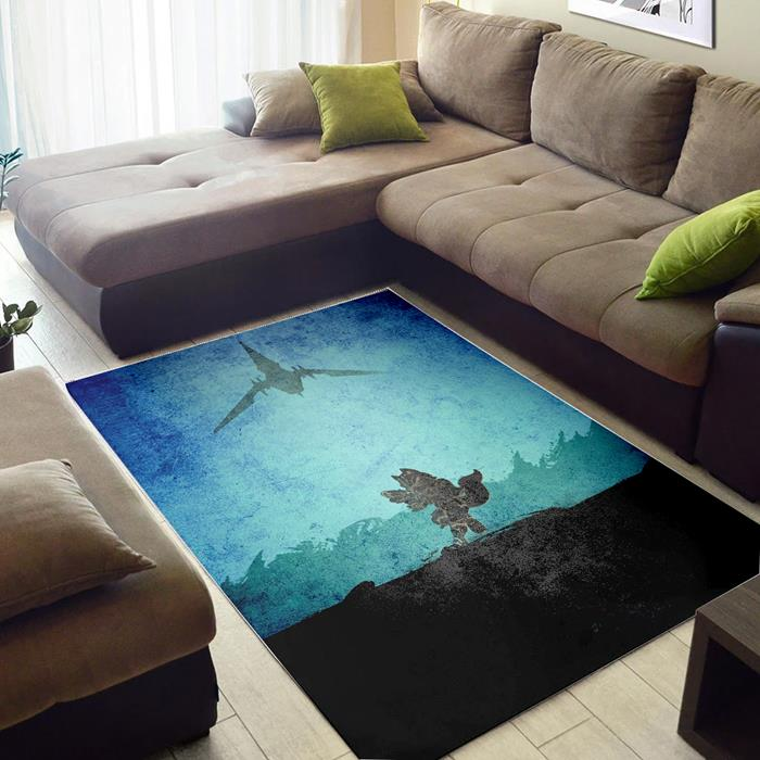 Star Fox of Zelda Rug