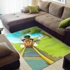 Zelda Spirit Tracks Rug