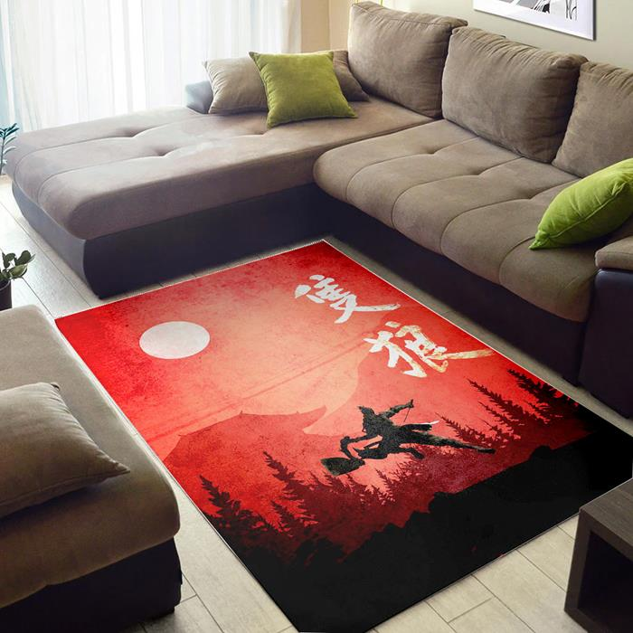 Sekiro With Kanji Sekiro of Zelda Rug