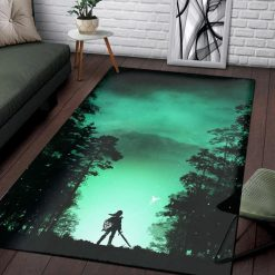 Kokiri Forest of Zelda Rug