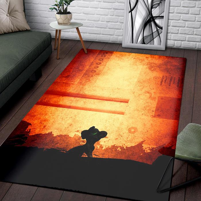 Metroid of Zelda Rug