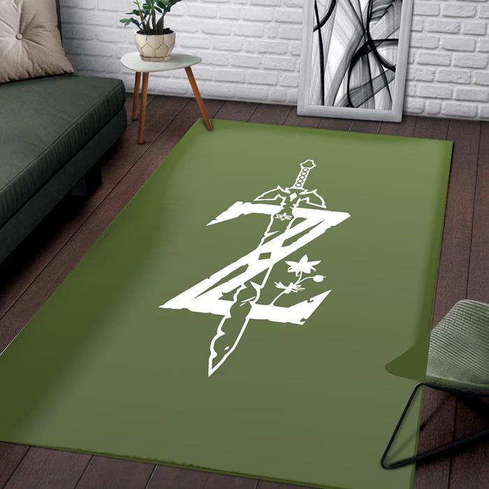 Zelda Logo Rug