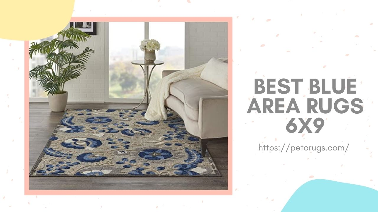 Best Blue Area Rugs 6x9