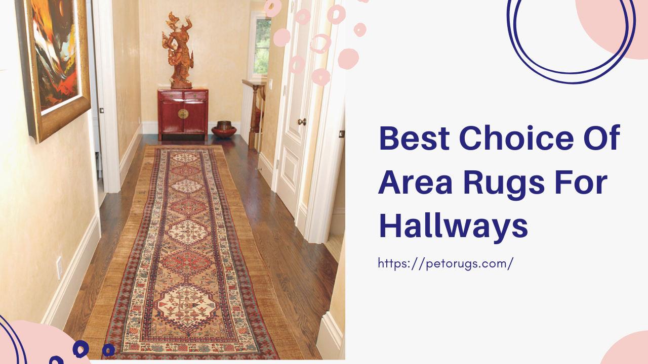 Area Rugs For Hallways