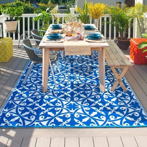 best rug material for outdoors