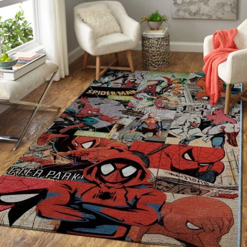 Spider Man Avengers Marvel Rug