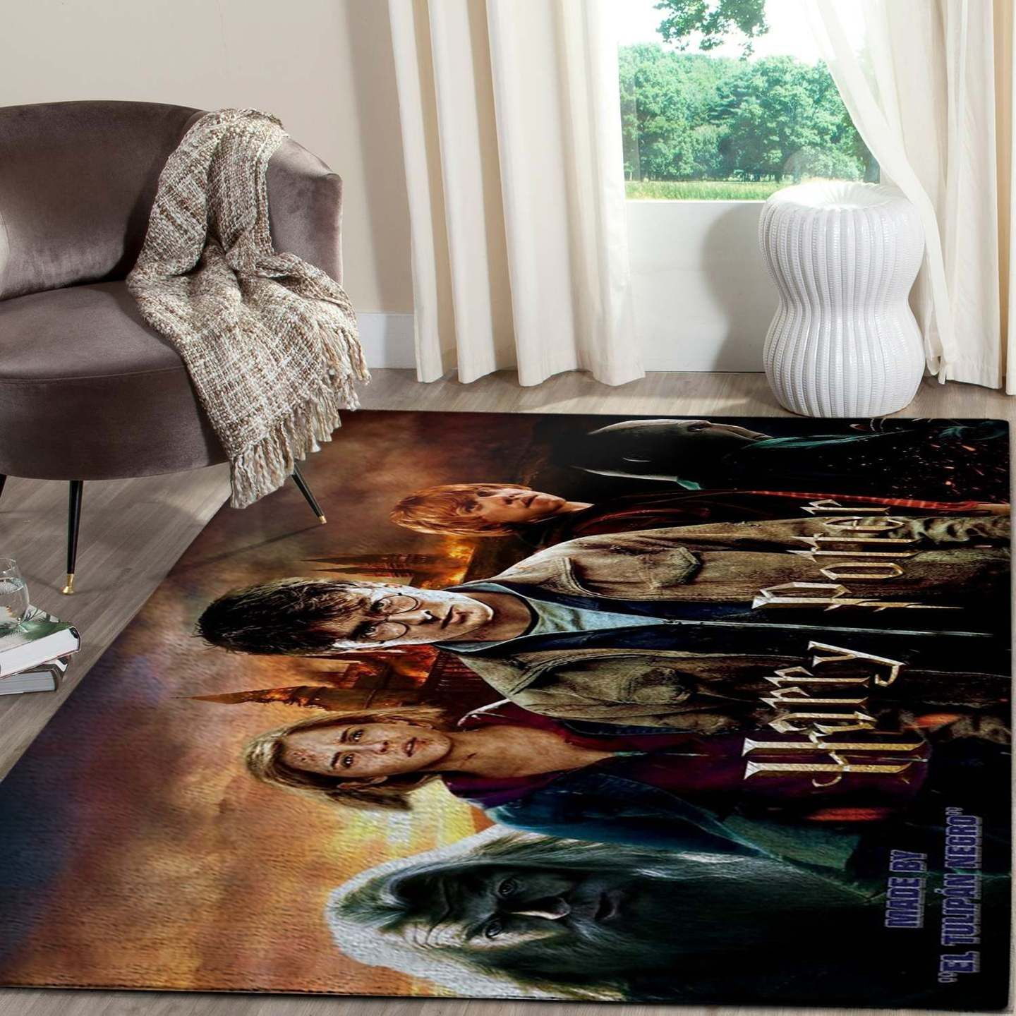 Harry Potter And Principal Hogwarts Rug