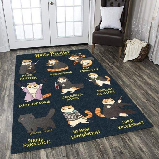 Cats Of Witch Harry Potter Rug