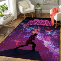 Black Panther Avengers Rug