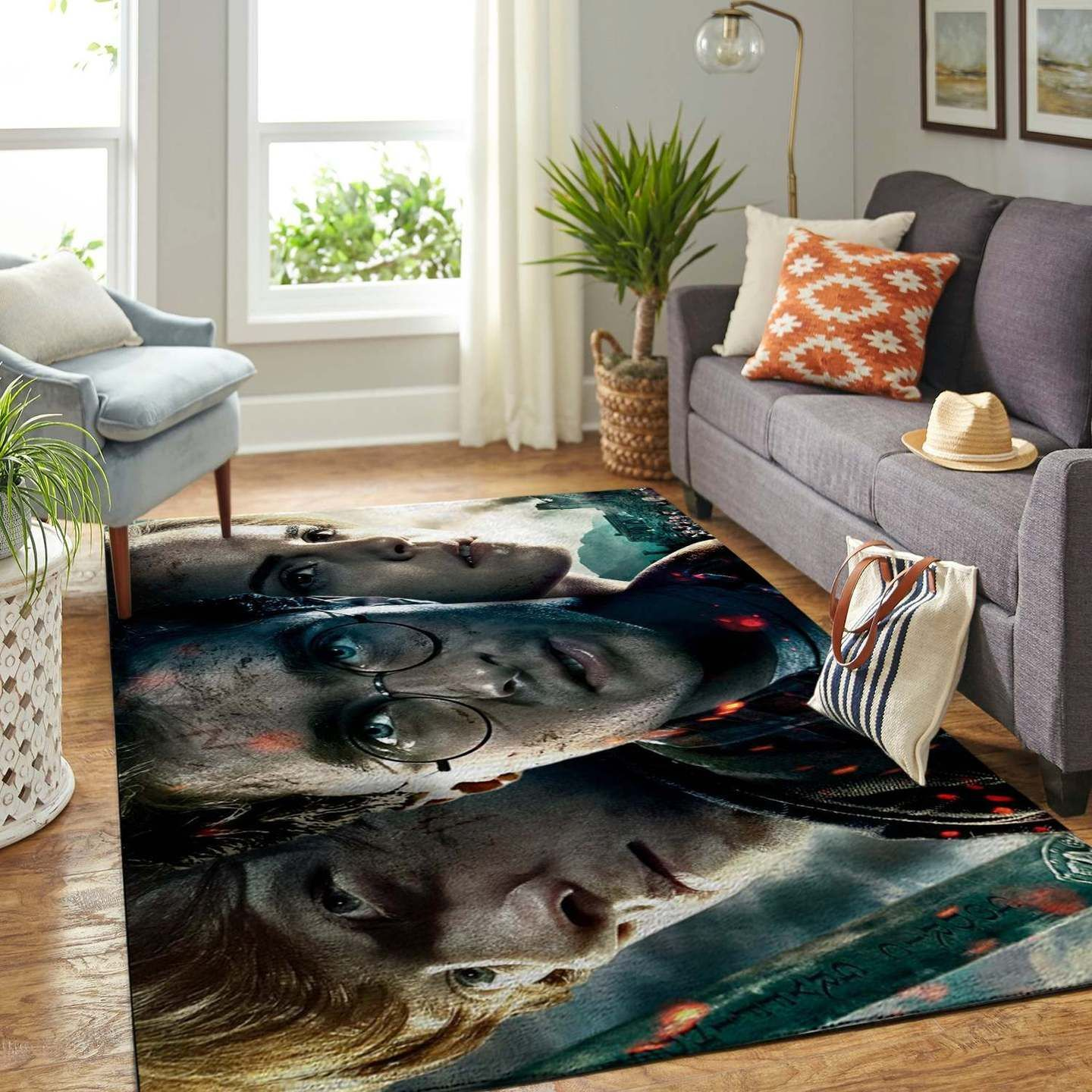 Harry Potter And Ron Area Rug