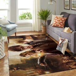 Harry Potter and Best Friends Area Rug