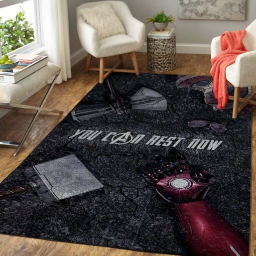 Avengers End Game Area Rug