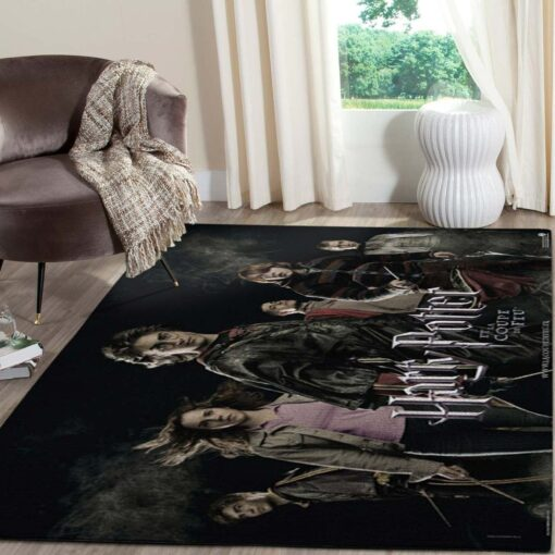 Harry Potter And Witchs Area Rug