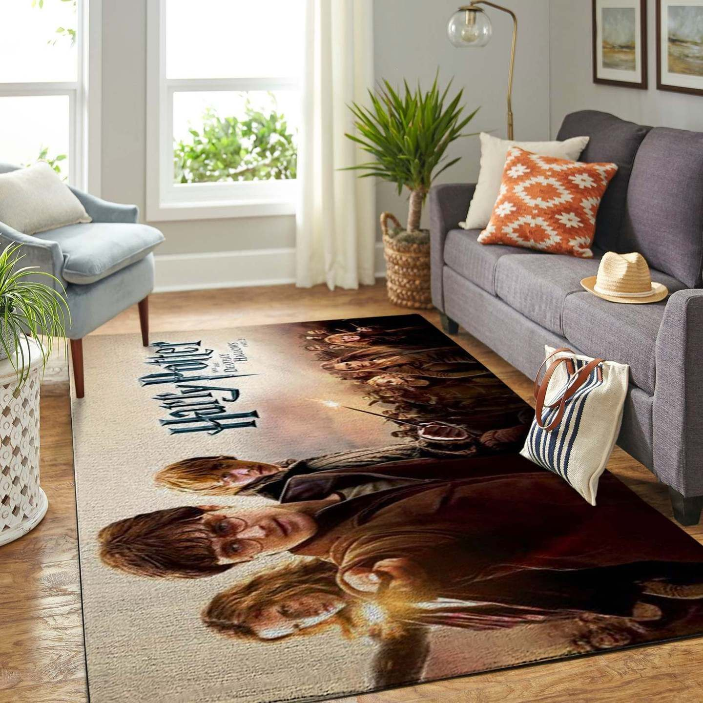 Harry Potter Hermione Ron Rug