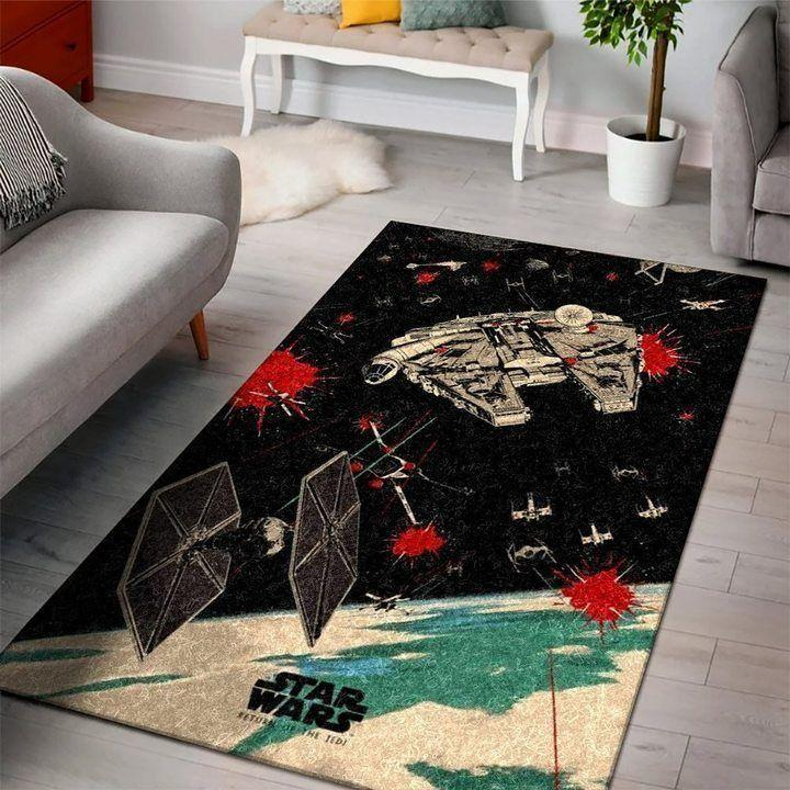 Millennium Falcon Of Star Wars Episode IV Rug
