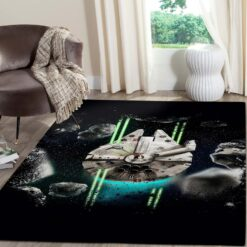 Millennium Falcon Star Wars Movies Rugs