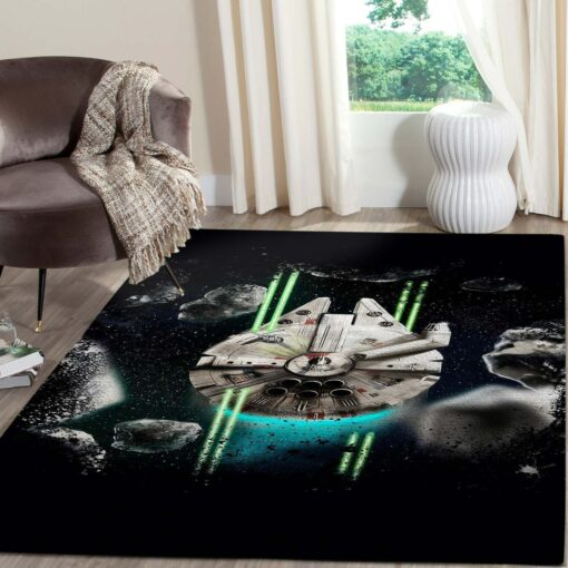 Millennium Falcon Star Wars Movies Rugs