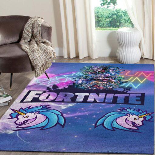 Fortnite Merry Chritsmas Gaming Rug