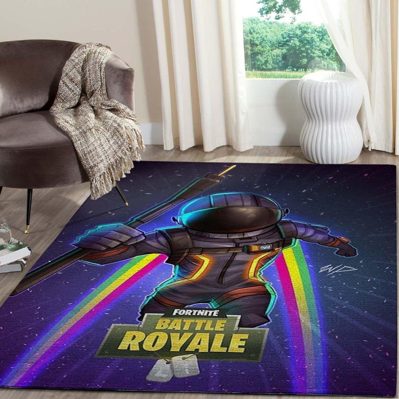 Dark Voyager Of Fortnite Rug