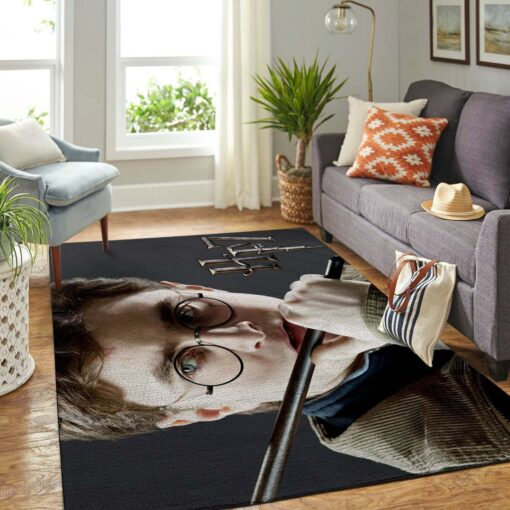 Harry Potter And Magic Wand Rug