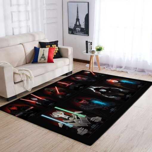 Star Wars Sith Rug