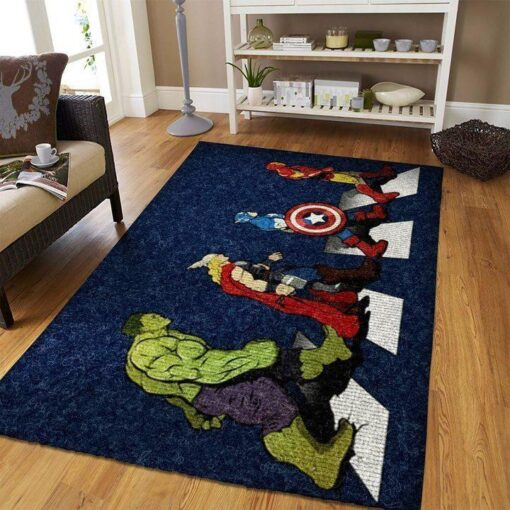 Marvel Superhero Walking Rug