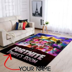 Customized Name Fortnite Rug