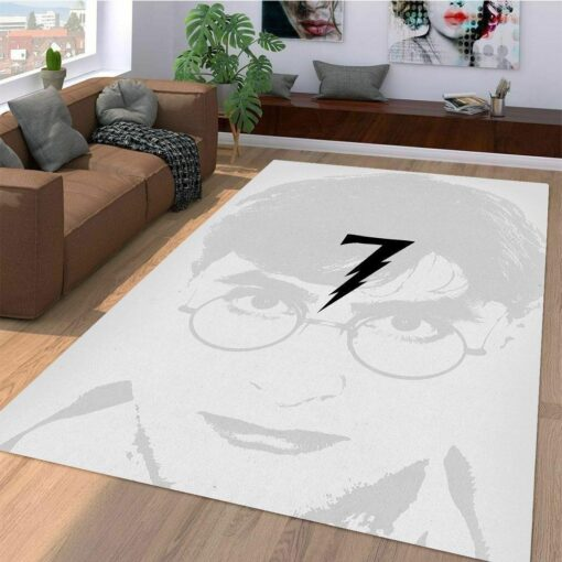 Harry Potter Monochrome Rug