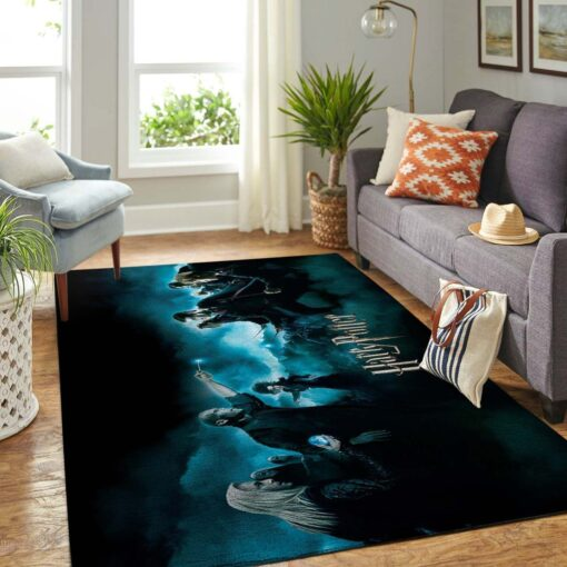 Voldemort And Harry Potter Rug