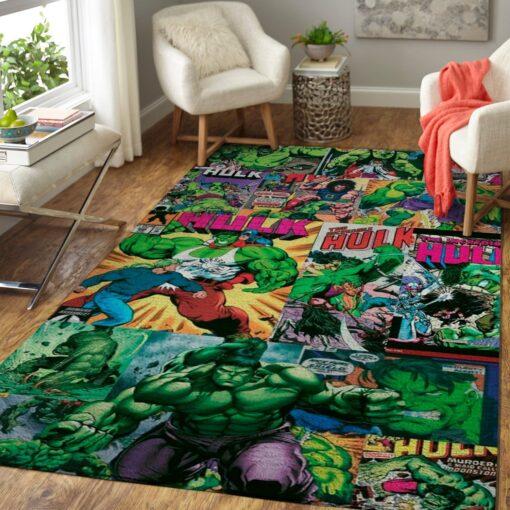 Hulk Avengers Rug