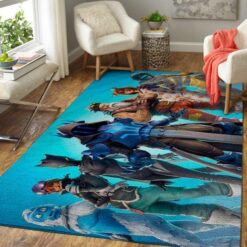 The Ice King And Characters Fortnite Rug