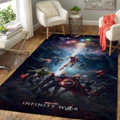 The Avengers Infinity War Rug