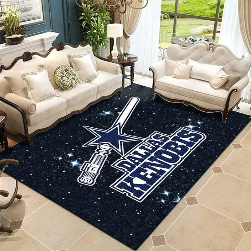 Dallas Cowboy NFL Star Wars Rug