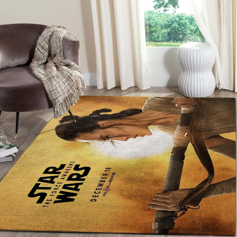 Rey Of Star Wars Rug