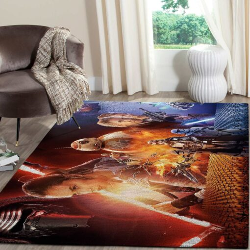 Star Wars Force Awakens SuperHero Rug